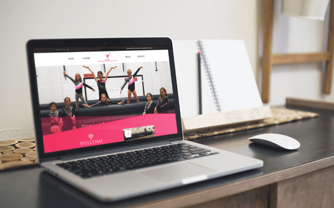 Website Launch: Diamond Gymnastics Club