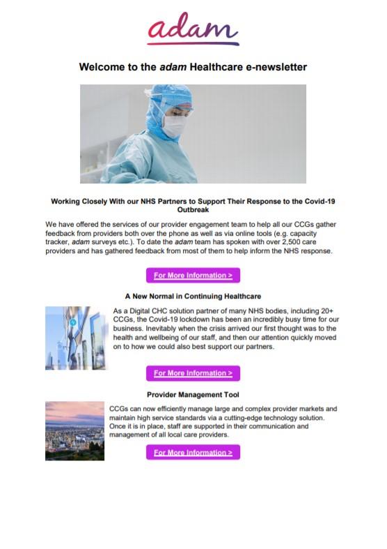 Healthcare Spring Newsletter