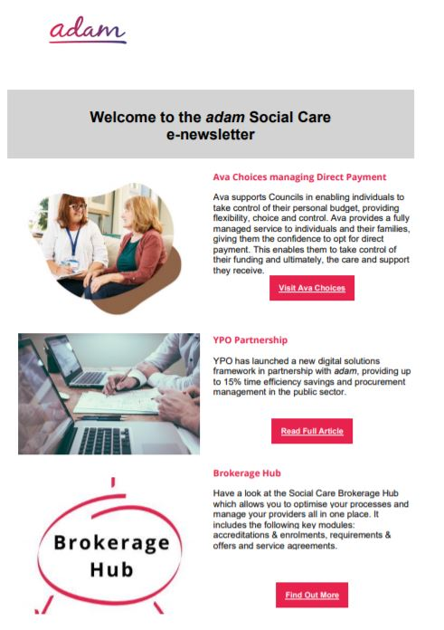 Social care autumn Newsletter