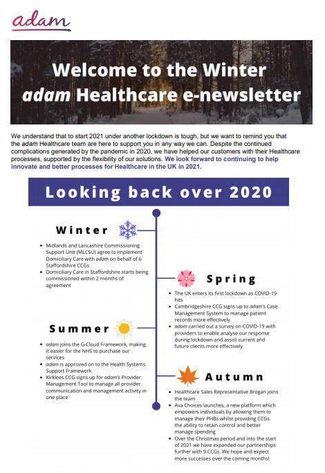Healthcare Winter Newsletter